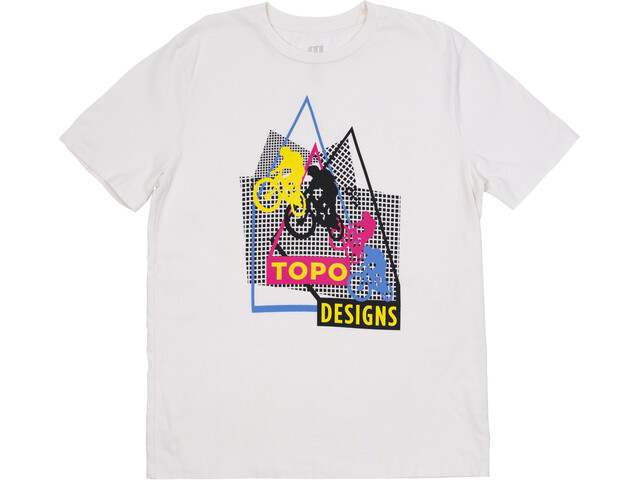 Topo Designs Bikes Kurzarm T-Shirt Herren natural